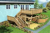 Split-Level Deck & Play Area