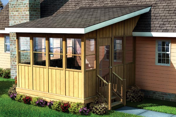 Project plan 90013 three season porch for What is a 3 season porch
