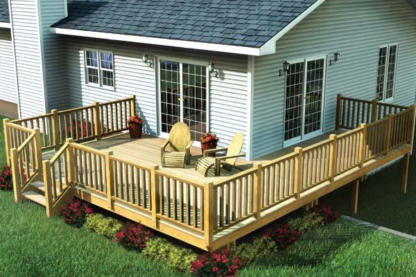 easy corner deck project plan 90014