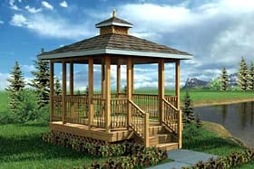Simply Fancy Gazebo - Project Plan 90018