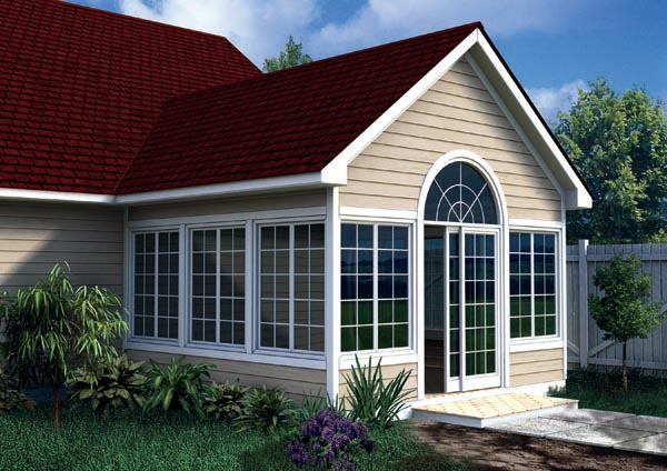 Gabled sunroom addition plan joy studio design gallery for House plans with sunroom