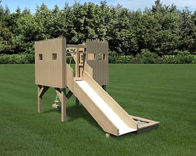 6'x6' Stockade Playfort - Project Plan 90024
