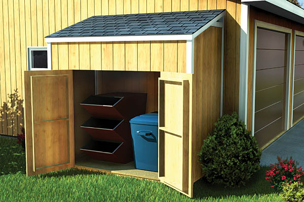 Lean-To Shed - Project Plan 90031