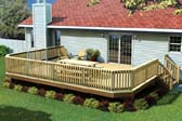 Fancy Raised Deck