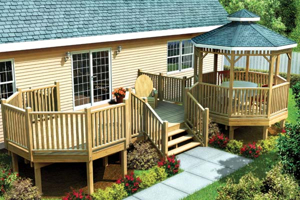 Modular Gazebo Picnic Deck - Project Plan 90035