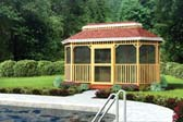 Large Oval Shaped Gazebo