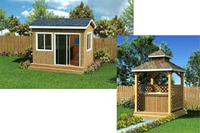 Outdoor Hot Tub Plans - Project Plan 90045