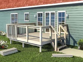 The How-to-Build Deck Plan - Project Plan 90050