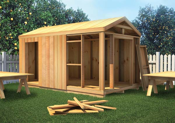 Project plan 90051 the how to build shed plan for Garden shed designs