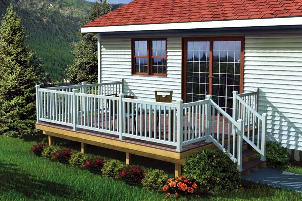 The Maintenance Free Easy Raised Deck Project Plan 90052