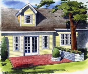 Backyard Landscape Project - Project Plan 90055