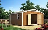 16 x 16 Gable Shed